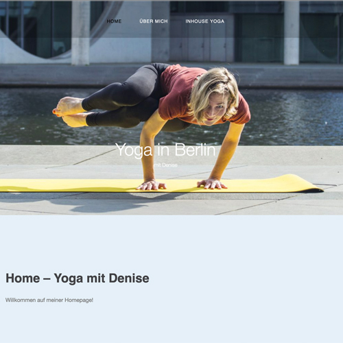 Yoga in Berlin wbdesign kantaberlin